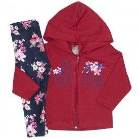 conjunto beyoutiful vermelho e marinho floral 150