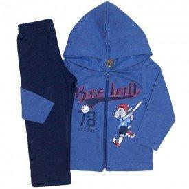 conjunto jaqueta baseball azul indigo e calca marinho 523