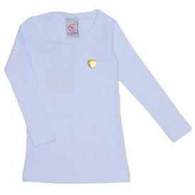 blusa basica love branca com pingente coracao 15 4009