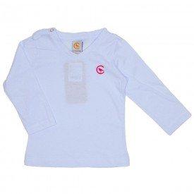 camiseta branca manga longa decote v 15 1001