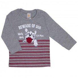 camiseta dog divertido com lingua interativa mescla 15 3011