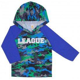camiseta raglan com capuz e estampa puff azul royal 15 3007