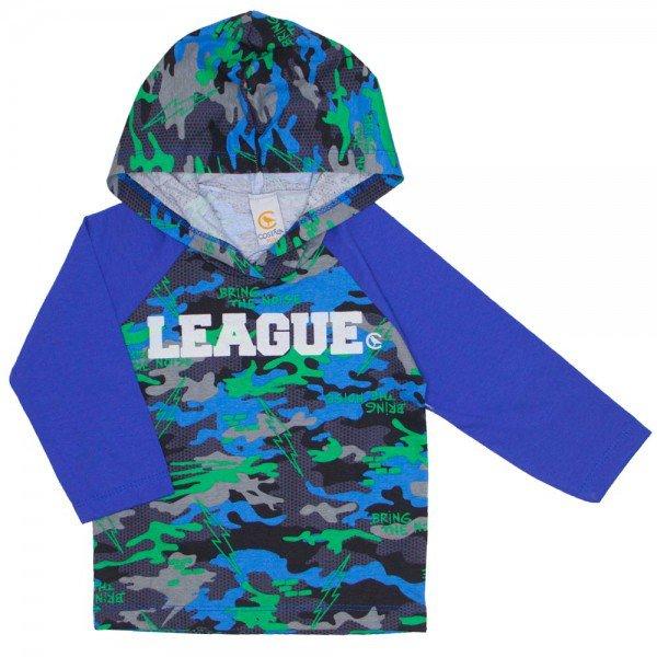 5b34b768ec4 camiseta raglan com capuz e estampa puff azul royal 15 3007