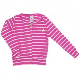 blusa cardigan listrada ribana pink 15 4007