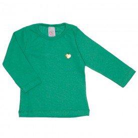 blusa basica love verde com pingente coracao 15 2000