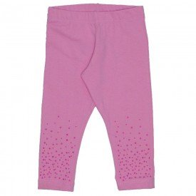 legging rosa de cotton com strass 15 2007