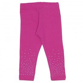 legging pink de cotton com strass 15 2007