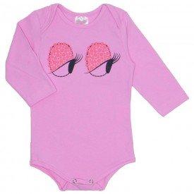 body em cotton rosa 1076