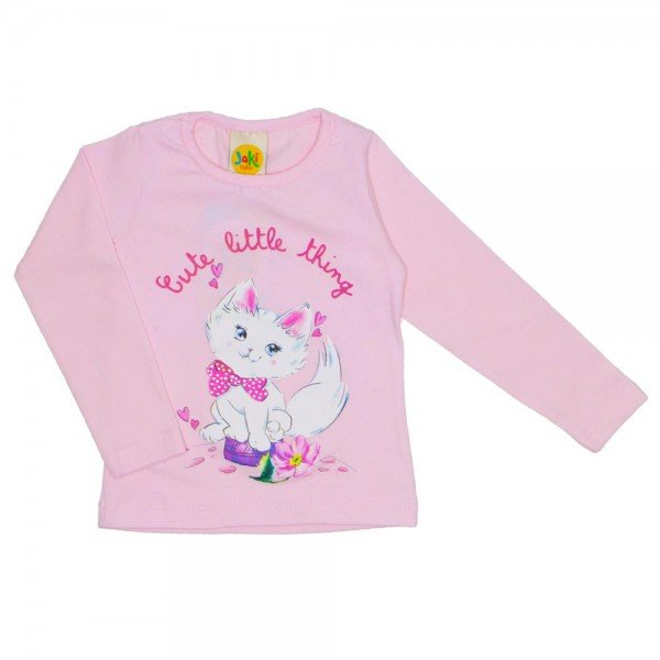 blusa cute little thing rosa 9510