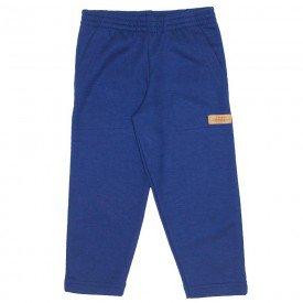 calca moletom bolso azul marinho 9527