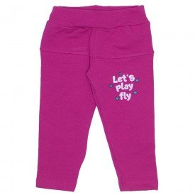 legging molecotton c estampa pink 19025