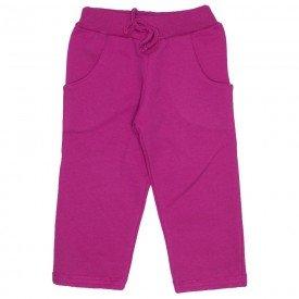 calca moletom bolso embutido cos barra virada pink 19065