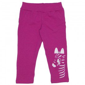 legging molecotton cos bolso falso e bordado pink 19022