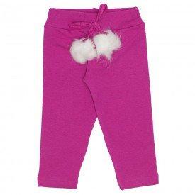 legging molecotton cos cordao c pom pom pink 19021
