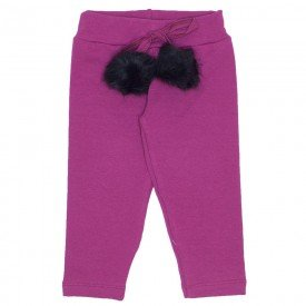 legging molecotton cos cordao c pom pom bordo 19021