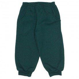 calca moletom c bolso embutido verde 19173