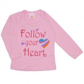 blusa meia malha raglan c strass rosa 19027