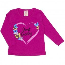 blusa cotton just lovely pink 19018