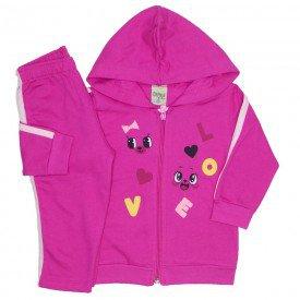 conjunto moletom love pink 8078