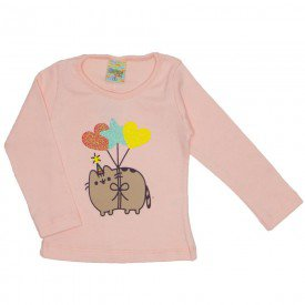 blusa ribana gatocornio rosa 8112