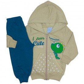 conjunto jaqueta off white e calca de moletom 4052