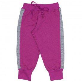calca de moletinho pink 4017