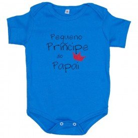 body azul pequeno principe do papai 718409