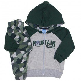 conjunto jaqueta verde e mescla raglan saruel camuflada 4042