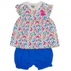 conjunto de meia rosa jeans azul claro meia malha e shorts chambray did 7540 ros 01