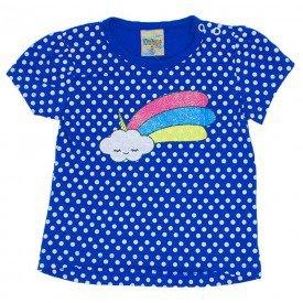 blusa de meia malha azul royal com manga did 7544 azu 01