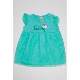 vestido verde ce u em cotton com tule did 7526 vrd 01