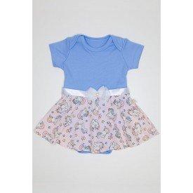 body azul bebe com saia rosa de unicornios e fita com laco com perolas e pedraria qui 1030082 azb 01