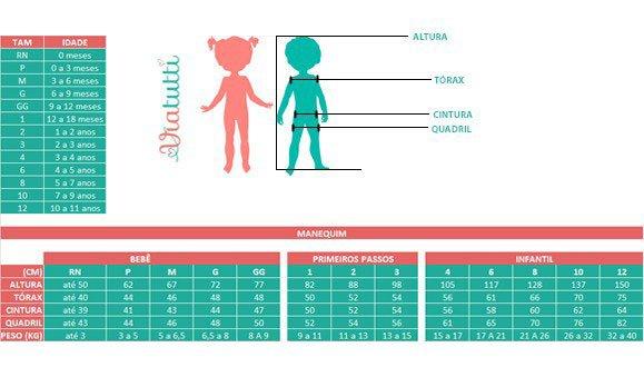 Tabela Referencial de Medidas