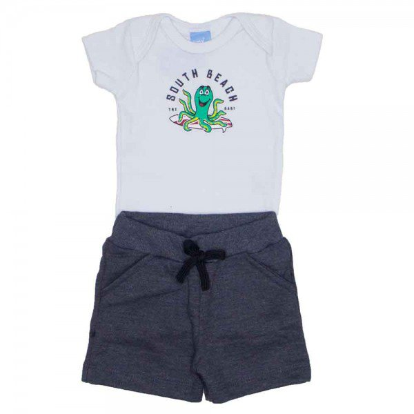 conjunto menino bebe south beach branco 4033 01