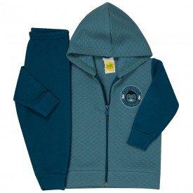 conjunto bebe masculino casaco e calca moletom holiday 38005 6712