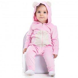 macacao plush bebe menina 7175