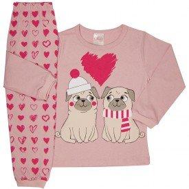 pijama infantil feminino 1182 6509