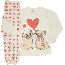 pijama infantil feminino 1182 6511