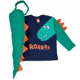 camiseta fantasia dinossauro 7203 2