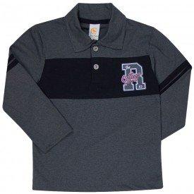 camiseta polo infantil manga comprida 183001 7678