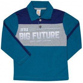 camiseta polo infantil manga comprida 183002 7683