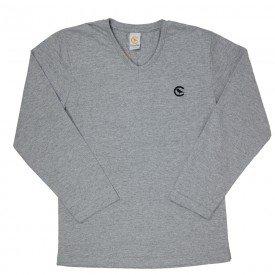 camiseta gola v manga longa 7689 183003