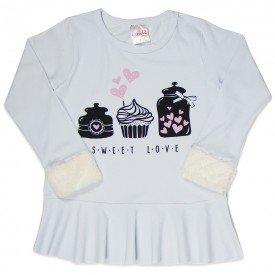 camiseta infantil menina 6546