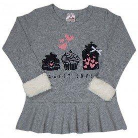 blusa infantil feminina 6545