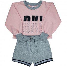 conjunto blusao infantil feminino 7884 186016