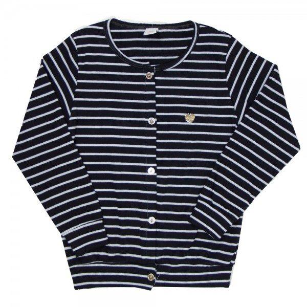 cardigan casaco infantil feminino 7858 186003