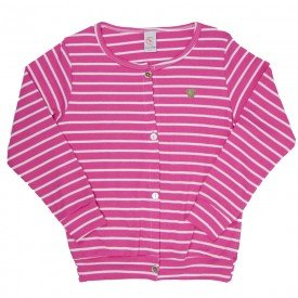 cardigan casaco infantil feminino 7856 186003