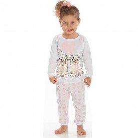 conjunto infantil menina pijamas 6510 1