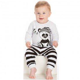 conjunto infantil bebe menino pijama 6587