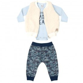 trijunto colete calca blusa 6602 7451